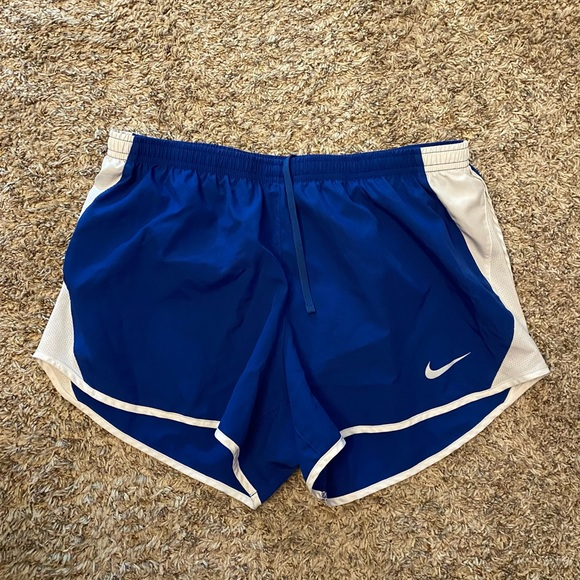 Blue Nike Running Shorts Size L